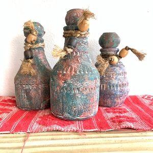 Vintage handmade pottery